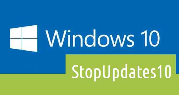 Utilitaire StopUpdates10