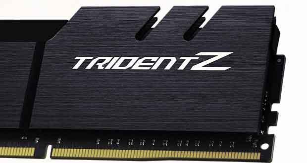 Kit DDR4 Trident Z RGB de G.Skill