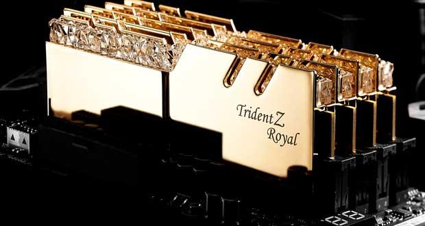 Trident Z Royal Series DDR4 RGB de G.Skill