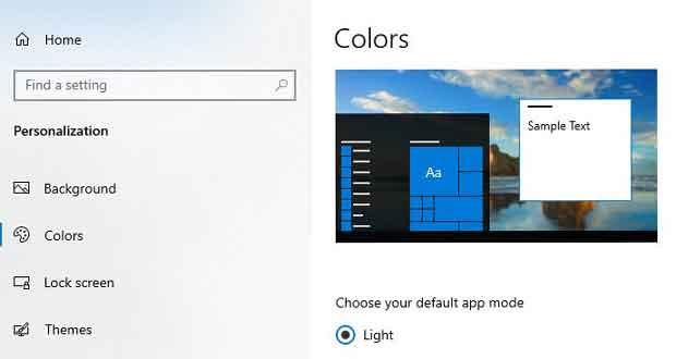 """Windows 10 19H1 et le paramètre """"Choisir votre mode Windows par défaut"""""""