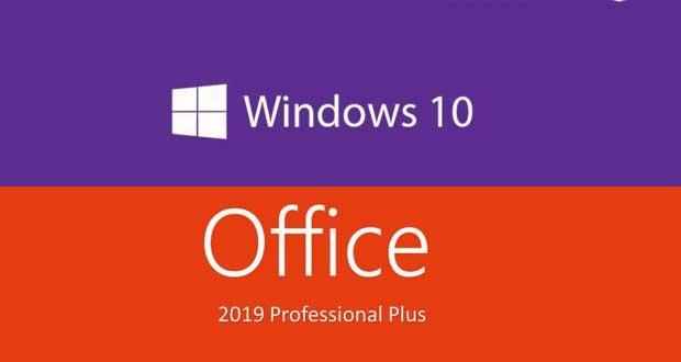 Windows 10 Pro et Office 2019 Pro Plus