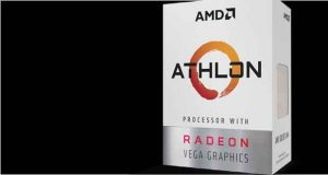 Processeur AMD Athlon avec Radeon Vega Graphics