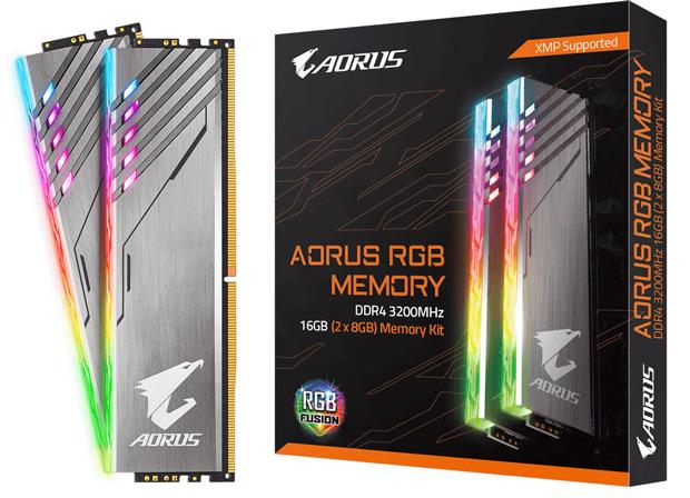 Kit Aorus RGB Memory DDR4-3200 16 Go (2 x 8 Go)