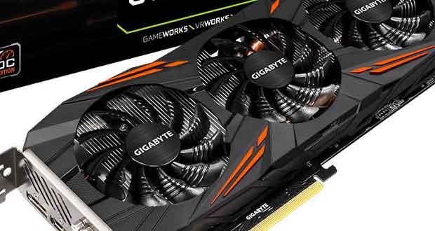 GeForce GTX 1060 6 Go D5X 6G G1.Gaming OC de Gigabyte