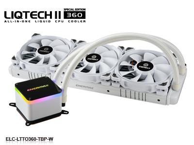 Watercooling AIO Liqtech II 360 (Blanc) d'Enermax