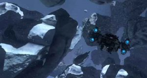 Asteroids Mesh Shaders Demo de Nvidia