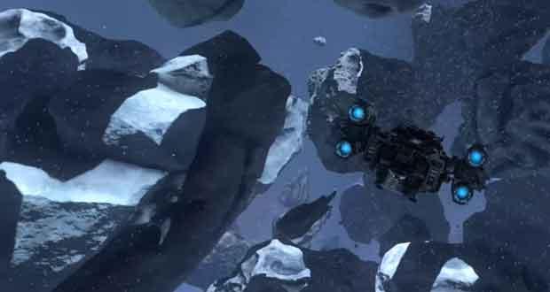 Asteroids Mesh Shaders Demo de Nvidia