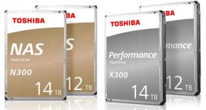 Disques durs N300 NAS et X300 de Toshiba