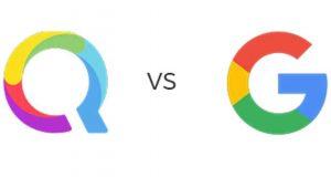 Qwant vs Google