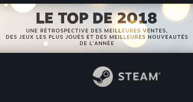 Steam, le Top de 2018