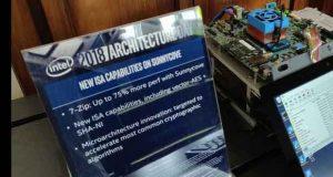 Plateforme SunnyCove d'Intel