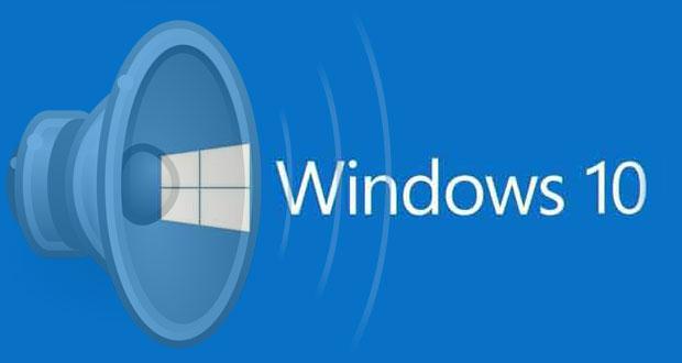 Windows 10 et les problèmes de son