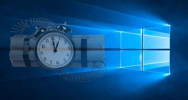 Windows 10, chaque build à une « Timebomb »