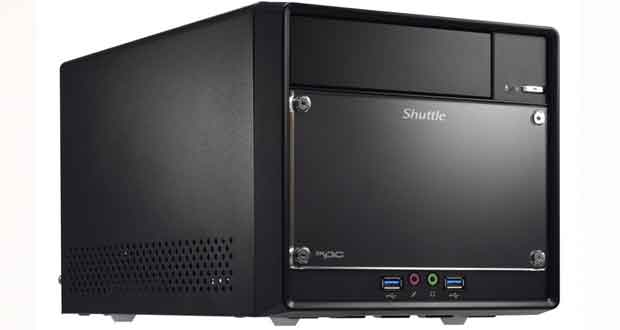 Mini-PC Barbone XPX cube SH310R de Shuttle
