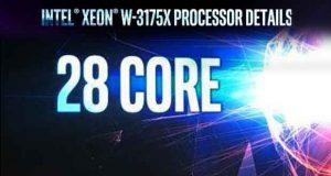 Processeur Xeon W-3175X d'Intel