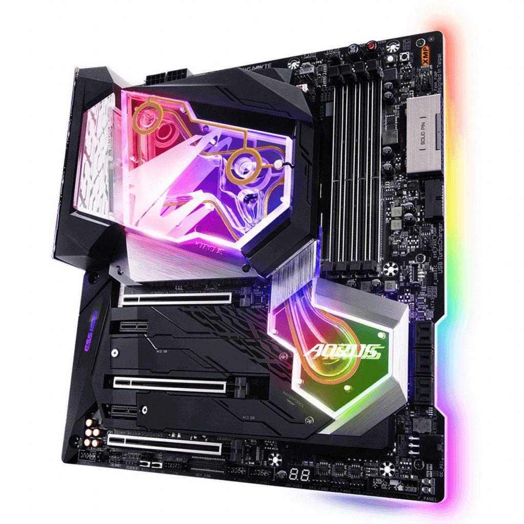 Carte mère Z390 Aorus Xtreme WaterForce de Gigabyte
