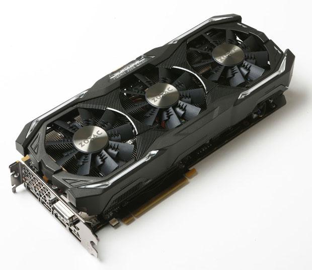 GeForce GTX 1070 AMP ! Extreme Core edition de Zotac