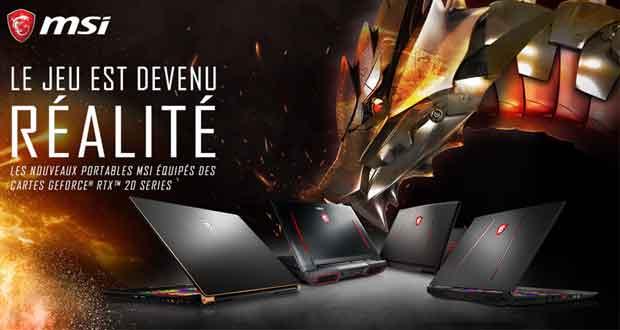 MSI dévoile plusieurs ordinateurs portables gaming dont le nouveau GS75 Stealth