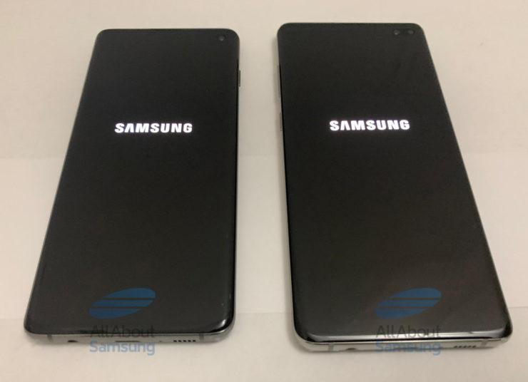 Smartphones Galaxy S10 et Galaxy S10 Plus de Samsung