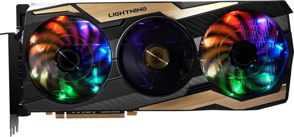 Carte graphique GeForce RTX 2080 Ti LIGHTNING Z de MSI