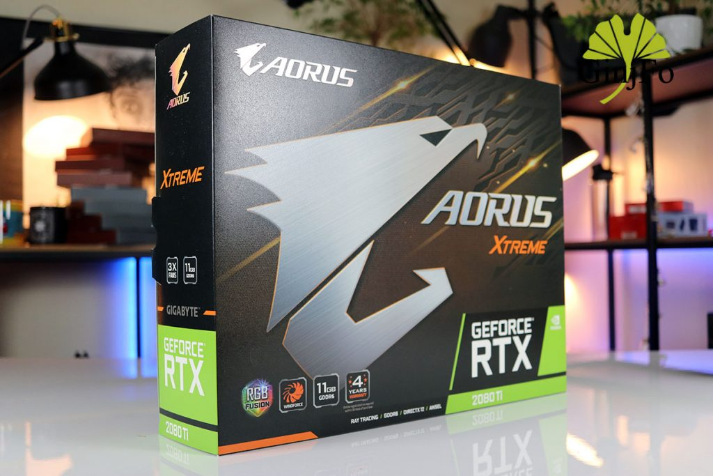 Aorus GeForce RTX 2080Ti Xtreme de Gigabyte
