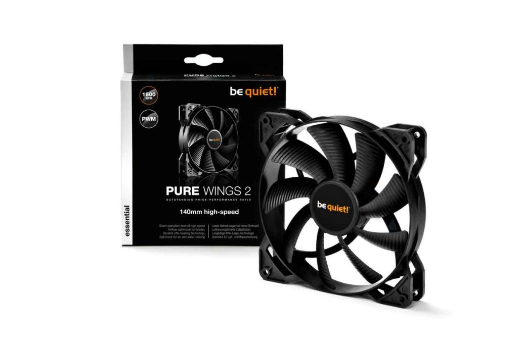 Ventilateur Pure Wings 2 de Be Quiet