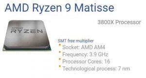 Processeur Ryzen 3000 d'AMD - Ryzen 9 3800X