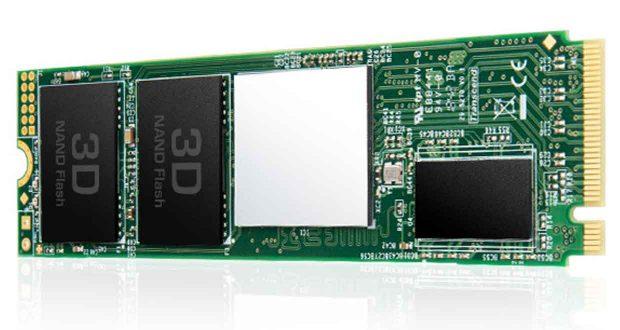 SSD MTE220S de Transcend