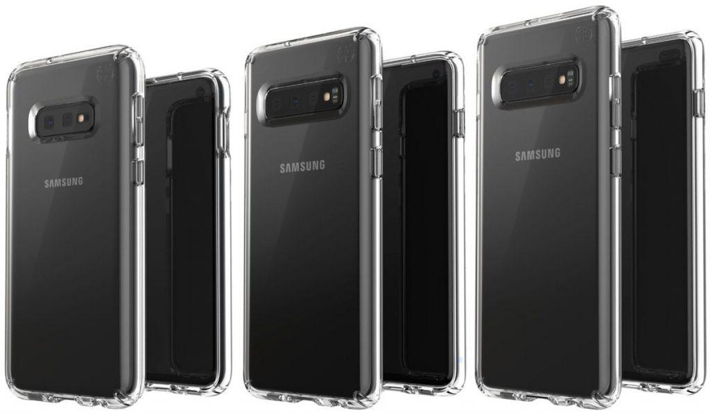 Galaxy S10E, Galaxy S10 et Galaxy S10 Plus