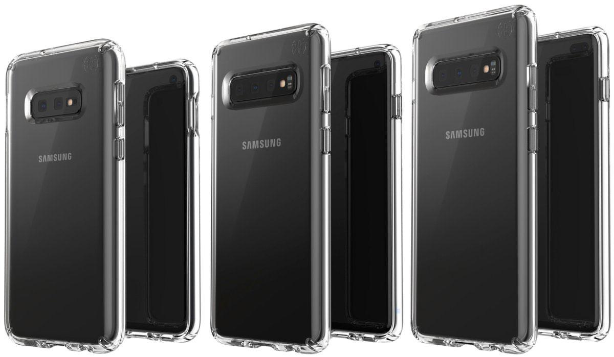 Des rendus des Samsung Galaxy S10E, S10, S10+ en fuite
