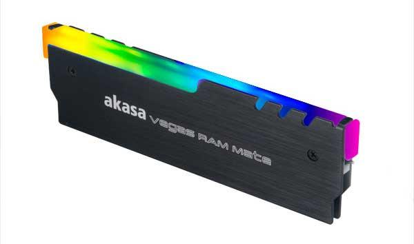Dissipateur thermique RGB Vegas RAM Mate d'Akasa