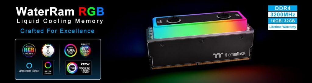 Kit WaterRam RGB de Thermaltake