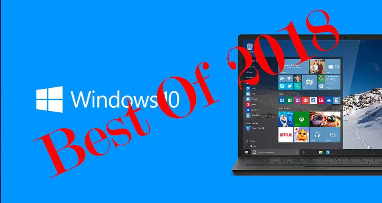 Windows 10 en 2018, le Top 5