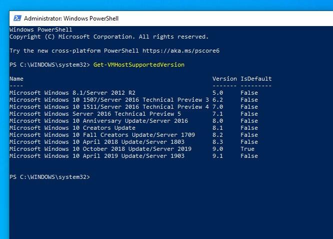 Windows 10 19H1 alias April 2019 Update