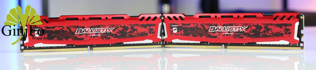 Kit Ballistix Sport LT Rouge 16 Go (8 Go x 2) DDR4 3 000 MT/s (PC4-24000) CL15