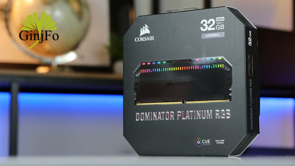 Dominator Platinum RGB - Kit 4 x 8 Go DDR4-3200 CL14