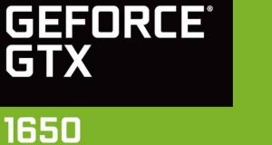 GeForce GTX 1650 de Nvidia