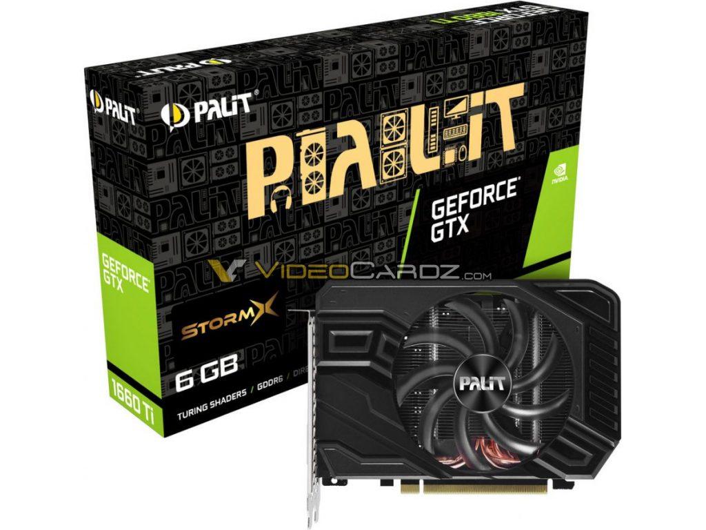 GeForce GTX 1660 Ti Storm X
