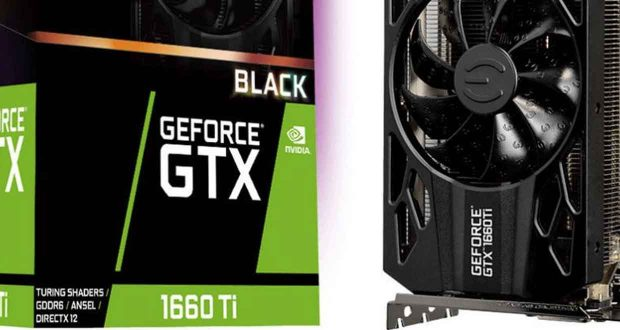 GeForce GTX 1660 Ti XC Black