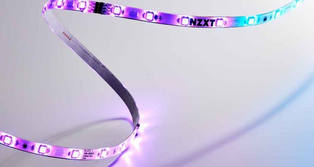 Bande LED HUE 2 LED Strip de NZXT