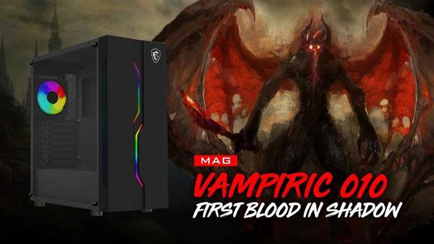 Boitier gaming MAG Vampiric 010 de MSI