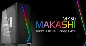 Boitier gaming Makashi MK50 d'Enermax