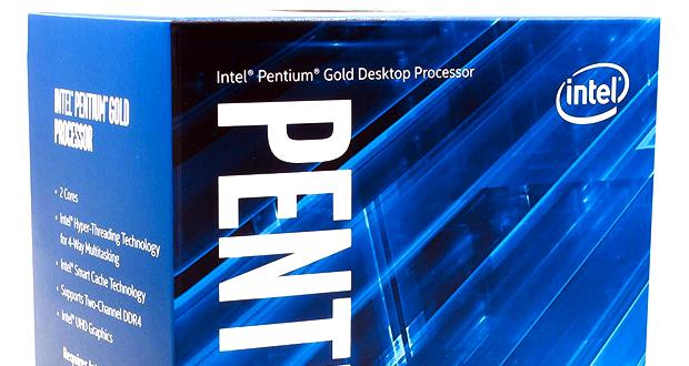 Processeur Pentium Gold d'Intel