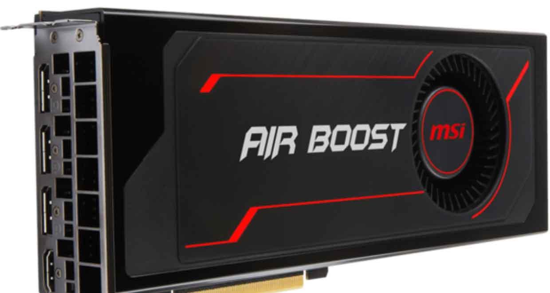 MSI - Radeon RX Vega 56 Air Boost 8G OC