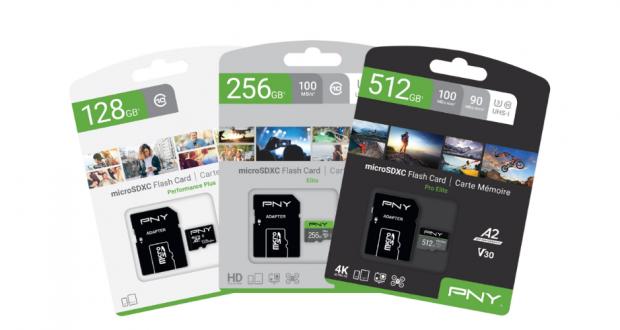 Cartes mémoire SD et MicroSD de PNY