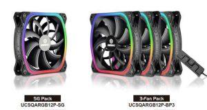 Ventilateur SquA RGB d'Enermax