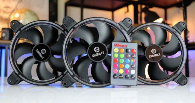 Ventilateur T.B.RGB 140 mm d'Enermax