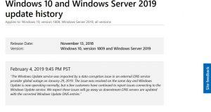 Windows Update et serveurs DNS