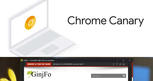 Chrome Canary - le Focus Mode