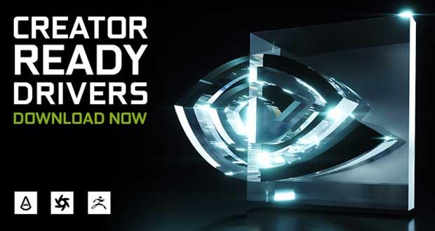 Drivers Creator Ready de Nvidia